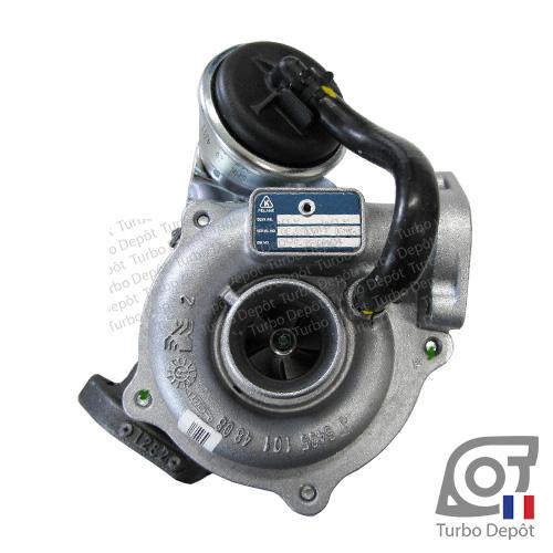 Turbo TR10212K pour BORGWARNER 5435-970-0005, face 1, sur FIAT 500 (2007-2015) DIESEL 1.3 JTD 75cv, FIAT DOBLO (2000-2010) DIESEL 1.3 JTD 70cv, FIAT FIORINO (2007-2017) DIESEL 1.3 JTD 75cv, FIAT GRANDE PUNTO (2005-2012) DIESEL 1.3 JTD 75cv, FIAT IDEA (2004-2010) DIESEL 1.3 JTD 70cv, FIAT PANDA (2003-2011) DIESEL 1.3 JTD 70/75cv, FIAT PUNTO (1999-2005) DIESEL 1.3 JTD 70cv, FIAT QUBO (2008-2017) DIESEL 1.3 JTD 75cv, FORD KA (2008-2016) DIESEL 1.3 TDCi 75cv, LANCIA MUSA (2004-2012) DIESEL 1.3 JTD 70cv, LANCIA YPSILON (2003-2011) DIESEL 1.3 JTD 70cv et OPEL CORSA (2006-2014) DIESEL 1.3 CDTI 75cv