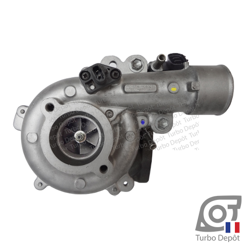 Turbo TR11156C pour TOYOTA 17201-30010, 17201-30011 face 1, sur TOYOTA LAND CRUISER KDJ90/95 (1996-2002) DIESEL 3.0 D-4D 163cv