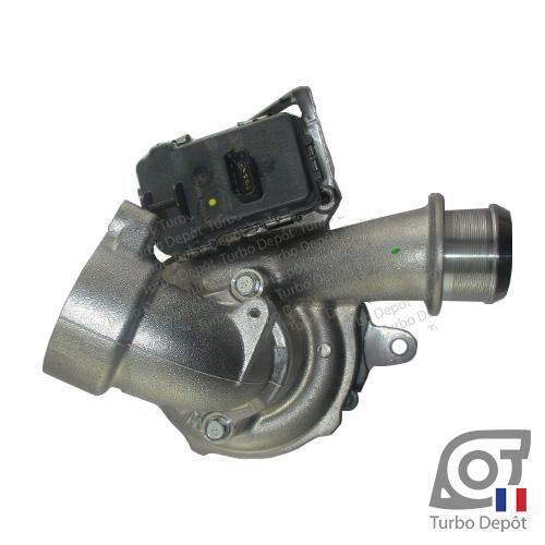 Turbo TR11200U pour MITSUBISHI 49477-01000/-01002/-01003/-01012/-01013 face 1, sur CITROEN C5 (2008-2017) DIESEL 2.2 HDi 200cv et PEUGEOT 508 (2011-2018) DIESEL 2.2 HDi 204cv