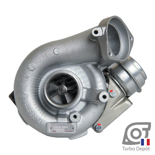 Turbo TX11202X pour GARRETT 728989 face 1, sur BMW 330d (E46) (1998 à 2007) DIESEL 3.0 204cv et BMW X3 (E83) 3.0d (2004 à 2010) DIESEL 3.0 204cv