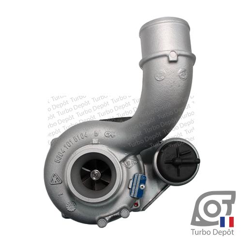 Turbo TX10221Z pour BORGWARNER 5303-970-0055, face 1, sur NISSAN INTERSTAR (2002-2010) DIESEL dCi 100/120, NISSAN PRIMASTAR (2002-2016) DIESEL dCi 115, OPEL MOVANO (1997-2010) DIESEL 2.5 DTI 100/115cv et RENAULT MASTER (1997-2010) DIESEL 2.5 dCi 100/120