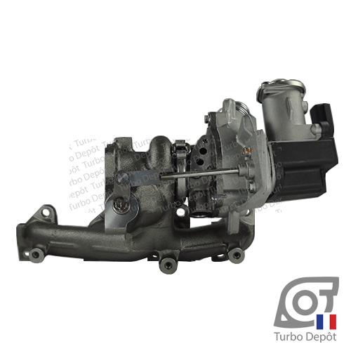 Turbo TR20223B pour IHI TURBO 03F145701B, 03F145701C, 03F145701D, 03F145701E, 03F145701F, 03F145701L, 03F145701S, 9V203 face 3, IHI TURBO 9V203, F31CEG-SR005B