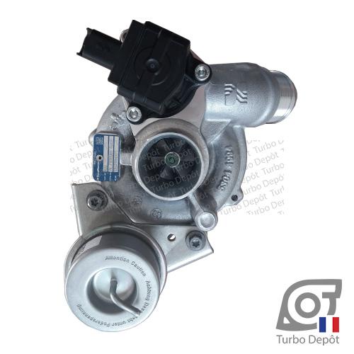 Turbo TR20021D pour BORGWARNER 5303-970-0104, 5303-970-0120, 5303-970-0121, 5303-970-0179, 5303-970-0217, 5303-970-0243 et 5303-970-0425, face 1, sur CITROEN C4 (2004-2010) 1.6 THP 140/150cv, CITROEN C4 (2010-…) 1.6 THP 156cv, CITROEN C4 Coupé (2004-2010) 1.6 THP 140/150cv, CITROEN C4 PICASSO (2006-2013) 1.6 THP 140/150cv et CITROEN C4 PICASSO (2013-2017) 1.6 THP 156cv