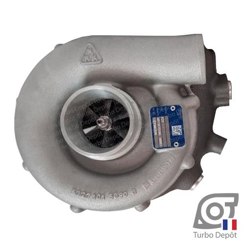 Turbo TR10234U pour BORGWARNER 5327-970-7090, 53279707090, VOLVO TAMD70E, 3802012, 3802014, 843663, 844289, face 1