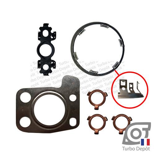 Pochette de joints PJ213L pour turbo GARRETT 819872-0001, 819872-1, 819872-5001S, PEUGEOT PSA CITROEN 1610580580, 9804119380