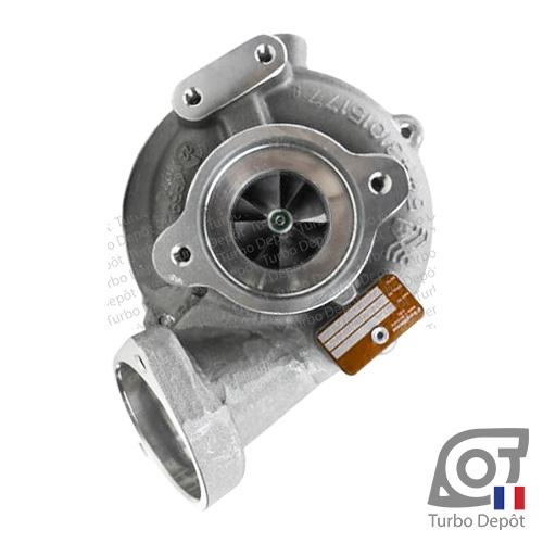 Turbo TR10240B pour BORGWARNER 5439-970-0065, 5439-970-0089, face 1, BMW 11657802587, 7802587