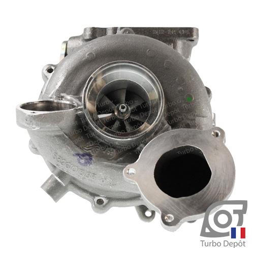 Turbo TR10241C pour BORGWARNER 5326-970-0001, 5326-970-0004, face 1, BMW 11657802588, 7802588, 11657811404, 7811404