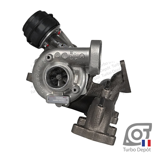 Turbo TR11242D pour GARRETT 716860-0001, 716860-0002, 716860-0003, 716860-0004, 716860-0005, face 1