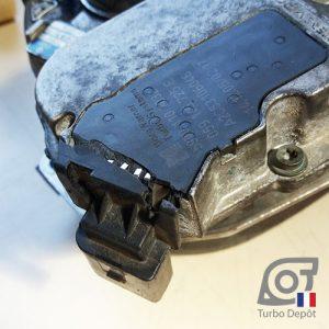Connecteur cassé sur actuateur électrique turbo BorgWarner 5304-970-0035, 5304-970-0043, 5304-970-0045, 5304-970-0050, 5304-970-0054