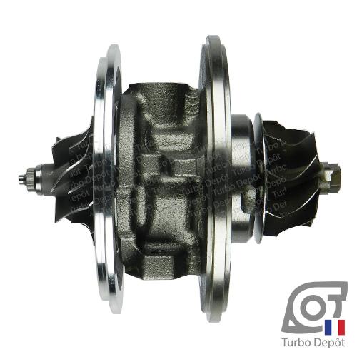 Ensemble Tournant CHRA cartouche centrale ET005E pour turbo Garrett 454232, 713672, 768329 et 768331, face 1