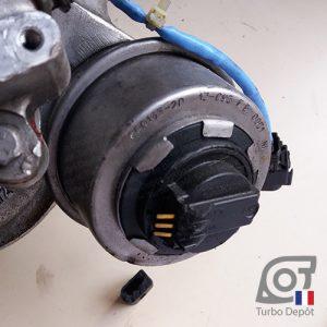 Connecteur électrique cassé sur clapet de décharge turbo