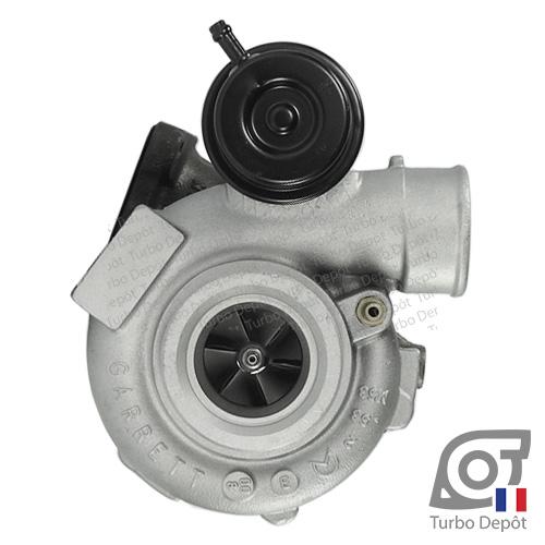 Turbo TR20011P pour GARRETT 452204, face 1, sur SAAB 9-3 (1998 à 2002) ESSENCE 2.0 Turbo 150cv