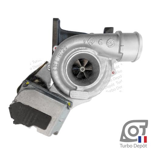Turbo TR11065W pour IHI TURBO VV19 face 1, sur MERCEDES-BENZ VIANO (2003-2014) DIESEL CDI 116cv et MERCEDES-BENZ VITO (2003-2014) DIESEL CDI 95/116cv type W639