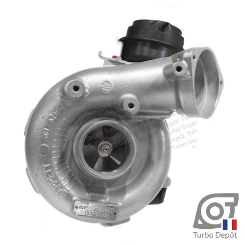 Turbo TR11248M pour GARRETT 742417-0001, 753392-0001, 753392-0003, 753392-0009, 753392-0015, 753392-0016, 753392-0017, 753392-0018, 753392-0019 sur BMW X5 (E53) 3.0d (1999 à 2006) 3.0 DIESEL 211/218cv