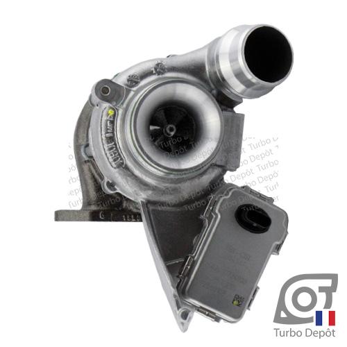 Turbo TR11218W pour IHI TURBO 9VB01, RHV4-T39 face 1, sur BMW 116d (F20/F21) (2011 à ce jour) 2.0 DIESEL 116cv, BMW 118d (F20/F21) (2011 à ce jour) 2.0 DIESEL 136/143cv, BMW 218d (F22/F23) (2014 à ce jour) 2.0 DIESEL 143cv, BMW 316d (F30/F31/F34) (2012 à 2018) 2.0 DIESEL 116cv, BMW 318d (F30/F31/F34) (2012 à 2018) 2.0 DIESEL 136/143cv, BMW 418d (F36) (2013 à ce jour) 2.0 DIESEL 143cv, BMW X1 (E84) 1.6d (2009 à 2015) 2.0 DIESEL 116cv et BMW X1 (E84) 1.8d (2009 à 2015) 2.0 DIESEL 136/143cv